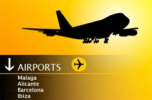 Airport Car hire in Spain